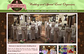Special Events Wedding Décor Fully Responsive and Optimised