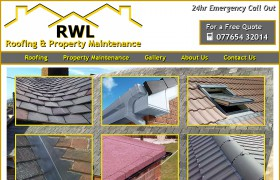 RWL Roofing and Property Maintenance - Responsive Design
