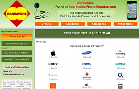 Wannafone Fully Responsive and Optimised